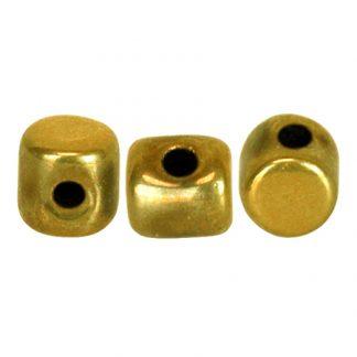 De Minos® par Puca® van het merk les Perles par Puca® is te koop bij kralenwinkel Limited Edition in Den Haag in de kleur Full Dorado.