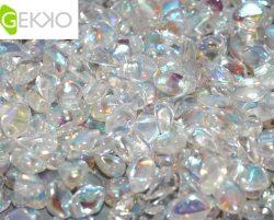 De gekko glaskraal is leuk om te gebruiken in sieraad patronen en is te koop bij kralenwinkel Limited Edition in Den Haag in de kleur 00030/28701.