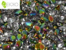 De gekko glaskraal is leuk om te gebruiken in sieraad patronen en is te koop bij kralenwinkel Limited Edition in Den Haag in de kleur 00030/28101.