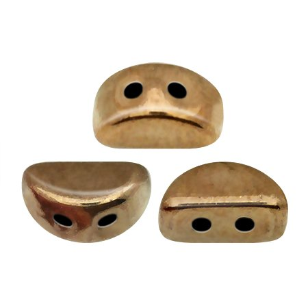 De Kos® par Puca® van het merk les Perles par Puca® is te koop bij kralenwinkel Limited Edition in Den Haag in de kleur Dark Gold Bronze.