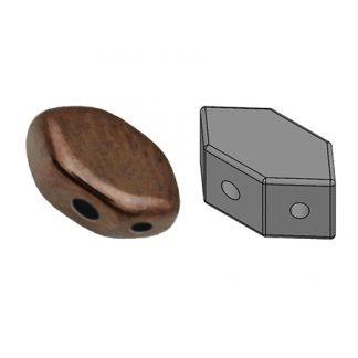 De Paros® par Puca® van het merk les Perles par Puca® is te koop bij kralenwinkel Limited Edition in Den Haag in de kleur Dark Bronze.