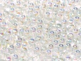 Deze ronde glaskralen worden vaak gebruikt in armband of ketting patronen en zijn te koop bij kralen winkel Limited Edition in Den Haag in de kleur 00030-98538.