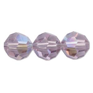 De Swarovski 5000 kraal is te koop bij kralenwinkel Limited Edition in de maat 8mm in de kleur Light Amethyst AB.