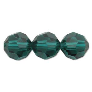 De Swarovski 5000 kraal is te koop bij kralenwinkel Limited Edition in de maat 8mm in de kleur Emerald.