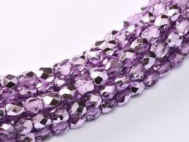 De glazen Fire Polished 3mm beads worden veel gebruikt in sieraden patronen en zijn te koop bij kralenwinkel Limited Edition in Den Haag in de kleur 00030/67272.