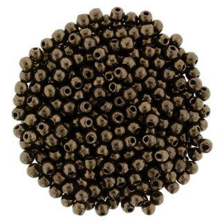 Deze ronde 2mm glaskralen worden vaak gebruikt in armband of ketting patronen en zijn te koop bij kralen winkel Limited Edition in Den Haag in de kleur 14415.