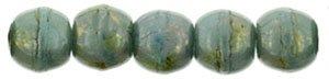 Deze ronde 2mm glaskralen worden vaak gebruikt in armband of ketting patronen en zijn te koop bij kralen winkel Limited Edition in Den Haag in de kleur BT6313.