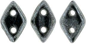 De CzechMates Diamond glaskraal word veel gebruikt in sieraad patronen en is te koop bij kralenwinkel Limited Edition in Den Haag in de kleur 14400.
