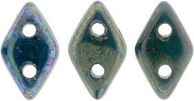 De CzechMates Diamond glaskraal word veel gebruikt in sieraad patronen en is te koop bij kralenwinkel Limited Edition in Den Haag in de kleur 15765.
