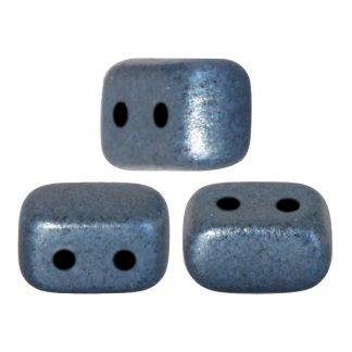 De Ios® par Puca® van het merk les Perles par Puca® is te koop bij kralenwinkel Limited Edition in Den Haag in de kleur Metallic Mat Blue.