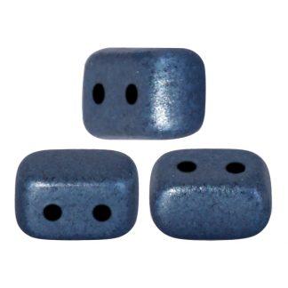 De Ios® par Puca® van het merk les Perles par Puca® is te koop bij kralenwinkel Limited Edition in Den Haag in de kleur Metallic Mat Dark Blue.