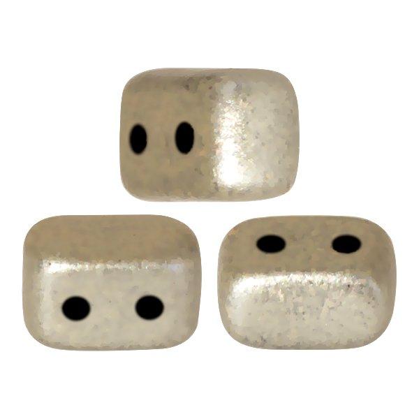 De Ios® par Puca® van het merk les Perles par Puca® is te koop bij kralenwinkel Limited Edition in Den Haag in de kleur Metallic Mat Beige.
