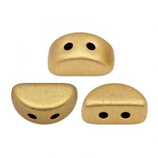 De Kos® par Puca® van het merk les Perles par Puca® is te koop bij kralenwinkel Limited Edition in Den Haag in de kleur Light Gold Mat.