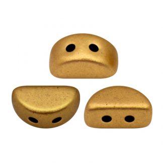De Kos® par Puca® van het merk les Perles par Puca® is te koop bij kralenwinkel Limited Edition in Den Haag in de kleur Bronze Gold Mat.