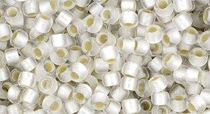 De rocaille 8/0 van het Japanse merk TOHO kan gebruikt worden om de gaafste sieraden mee te maken en zijn te koop bij kralenwinkel Limited Edition in Den Haag in de kleur TR-08-PF21F.