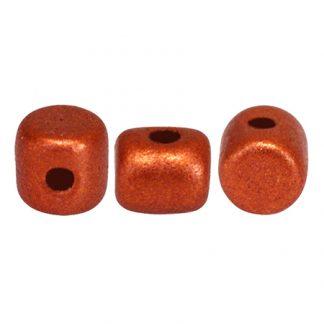 De Minos® par Puca® van het merk les Perles par Puca® is te koop bij kralenwinkel Limited Edition in Den Haag in de kleur Bronze Red Mat.