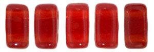 De Bricks kraal van het merk CzechMates is 3x6mm en leuk te combineren met andere two hole beads en is te koop bij kralenwinkel Limited Edition in Den Haag in de kleur 90080.