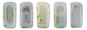 De Bricks kraal van het merk CzechMates is 3x6mm en leuk te combineren met andere two hole beads en is te koop bij kralenwinkel Limited Edition in Den Haag in de kleur LN02010.