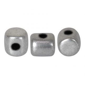 De Minos® par Puca® van het merk les Perles par Puca® is te koop bij kralenwinkel Limited Edition in Den Haag in de kleur Silver Alluminium Mat.