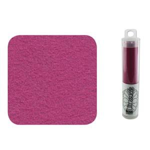 UltraSuede is perfect om te gebruiken om een zachtere onderlaag aan een embroidery werkje te geven en is te koop bij kralenwinkel Limited Edition in Den Haag in de kleur Light Fuchsia.