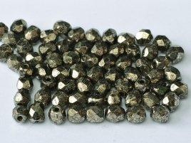 De glazen Fire Polished 4mm beads worden veel gebruikt in sieraden patronen en zijn te koop bij kralenwinkel Limited Edition in Den Haag in de kleur 00030/18549.