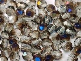 De glazen Fire Polished 4mm beads worden veel gebruikt in sieraden patronen en zijn te koop bij kralenwinkel Limited Edition in Den Haag in de kleur 00030/22201