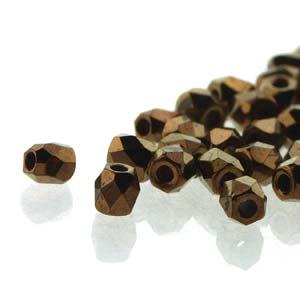 De glazen Fire Polished 2mm beads worden veel gebruikt in sieraden patronen en zijn te koop bij kralenwinkel Limited Edition in Den Haag in de kleur 23980/14415.