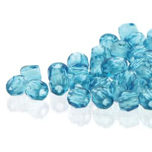 De glazen Fire Polished 2mm beads worden veel gebruikt in sieraden patronen en zijn te koop bij kralenwinkel Limited Edition in Den Haag in de kleur 60020.