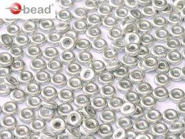 De O bead is leuk te gebruiken in patroontjes tussen andere kralen en is te koop bij kralenwinkel Limited Edition in Den Haag.