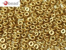De O bead is leuk te gebruiken in patroontjes tussen andere kralen en is te koop bij kralenwinkel Limited Edition in Den Haag in de kleur 01710.