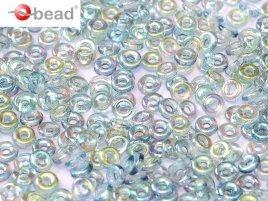 De O bead is leuk te gebruiken in patroontjes tussen andere kralen en is te koop bij kralenwinkel Limited Edition in Den Haag in de kleur 00030-98538.