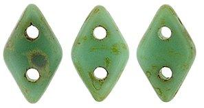 De CzechMates Diamond glaskraal word veel gebruikt in sieraad patronen en is te koop bij kralenwinkel Limited Edition in Den Haag in de kleur T63130.