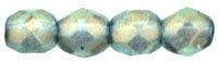 De glazen Fire Polished 4mm beads worden veel gebruikt in sieraden patronen en zijn te koop bij kralenwinkel Limited Edition in Den Haag in de kleur 6926CR.