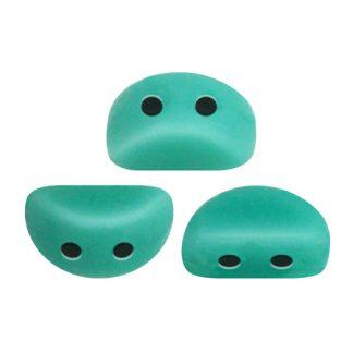 De Kos® par Puca® van het merk les Perles par Puca® is te koop bij kralenwinkel Limited Edition in Den Haag in de kleur Opaque Green Turquoise.