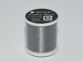 Dit Miyuki beading thread draad is perfect om te gebruiken met kleine kraaltjes en is te koop bij kralenwinkel Limited Edition in Den Haag in de kleur Earl Grey.