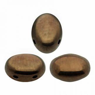 De Samos® par Puca® van het merk les Perles par Puca® is te koop bij kralenwinkel Limited Edition in Den Haag in de kleur Dark Bronze.
