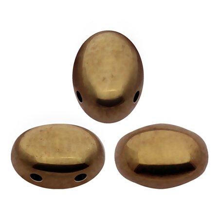 De Samos® par Puca® van het merk les Perles par Puca® is te koop bij kralenwinkel Limited Edition in Den Haag in de kleur Dark Gold Bronze.