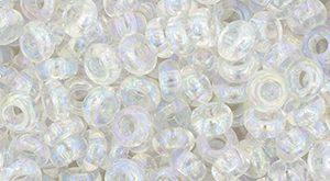 De demi round in de maat 6/0 van het Japanse glasmerk TOHO is te koop bij kralenwinkel Limited Edition in Den Haag in de kleur TN-06-161.