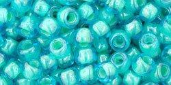 De rocaille in de maat 6/0 van het Japanse glasmerk TOHO is te koop bij kralenwinkel Limited Edition in Den Haag in de kleur TR-06-954.
