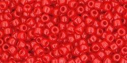 De rocaille 11/0 van het Japanse merk TOHO kan gebruikt worden om de gaafste sieraden mee te maken en zijn te koop bij kralenwinkel Limited Edition in Den Haag in de kleur TR-11-45A.