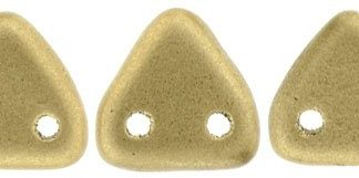 CzechMates Triangle: Matte Metallic Flax.