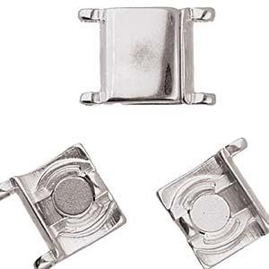 De onderdelen van Cymbal zijn ervoor gemaakt om een bepaalde kraal soort te vervangen of af te werken en zijn te koop bij kralenwinkel Limited Edition in de vorm Axos II in de kleur zilver.