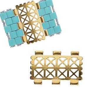 De onderdelen van Cymbal zijn ervoor gemaakt om een bepaalde kraal soort te vervangen of af te werken en zijn te koop bij kralenwinkel Limited Edition in de vorm Faragas in de kleur goud.