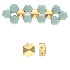 De onderdelen van Cymbal zijn ervoor gemaakt om een bepaalde kraal soort te vervangen of af te werken en zijn te koop bij kralenwinkel Limited Edition in de vorm Galini in de kleur goud.