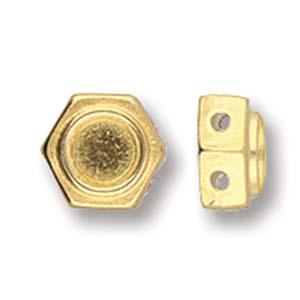 De onderdelen van Cymbal zijn ervoor gemaakt om een bepaalde kraal soort te vervangen of af te werken en zijn te koop bij kralenwinkel Limited Edition in de vorm Kanakari in de kleur goud.