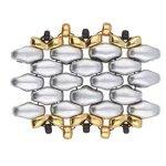 De onderdelen van Cymbal zijn ervoor gemaakt om een bepaalde kraal soort te vervangen of af te werken en zijn te koop bij kralenwinkel Limited Edition in de vorm Kaparia in de kleur goud.