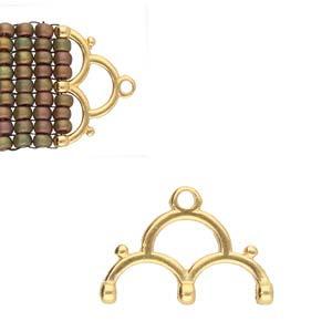De onderdelen van Cymbal zijn ervoor gemaakt om een bepaalde kraal soort te vervangen of af te werken en zijn te koop bij kralenwinkel Limited Edition in de vorm Lakos III in de kleur goud.