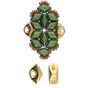 De onderdelen van Cymbal zijn ervoor gemaakt om een bepaalde kraal soort te vervangen of af te werken en zijn te koop bij kralenwinkel Limited Edition in de vorm Tripiti in de kleur goud.