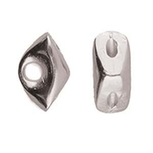 De onderdelen van Cymbal zijn ervoor gemaakt om een bepaalde kraal soort te vervangen of af te werken en zijn te koop bij kralenwinkel Limited Edition in de vorm Tripiti in de kleur zilver.