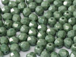 De glazen Fire Polished 4mm beads worden veel gebruikt in sieraden patronen en zijn te koop bij kralenwinkel Limited Edition in Den Haag in de kleur 03000/14459.